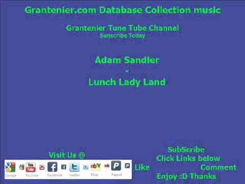 Adam Sandler  Lunch Lady Lands