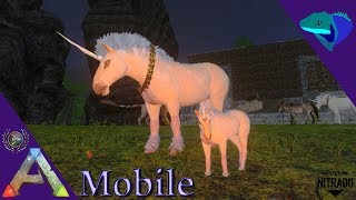 UNICORN TAMING AND BREEDING! WE CAN RIDE THE BABY! ARK: Mobile…