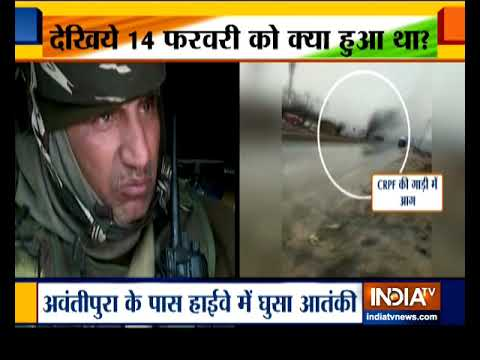 Days after Pulwama attack security forces carry out strict checking of vehicles in J&K