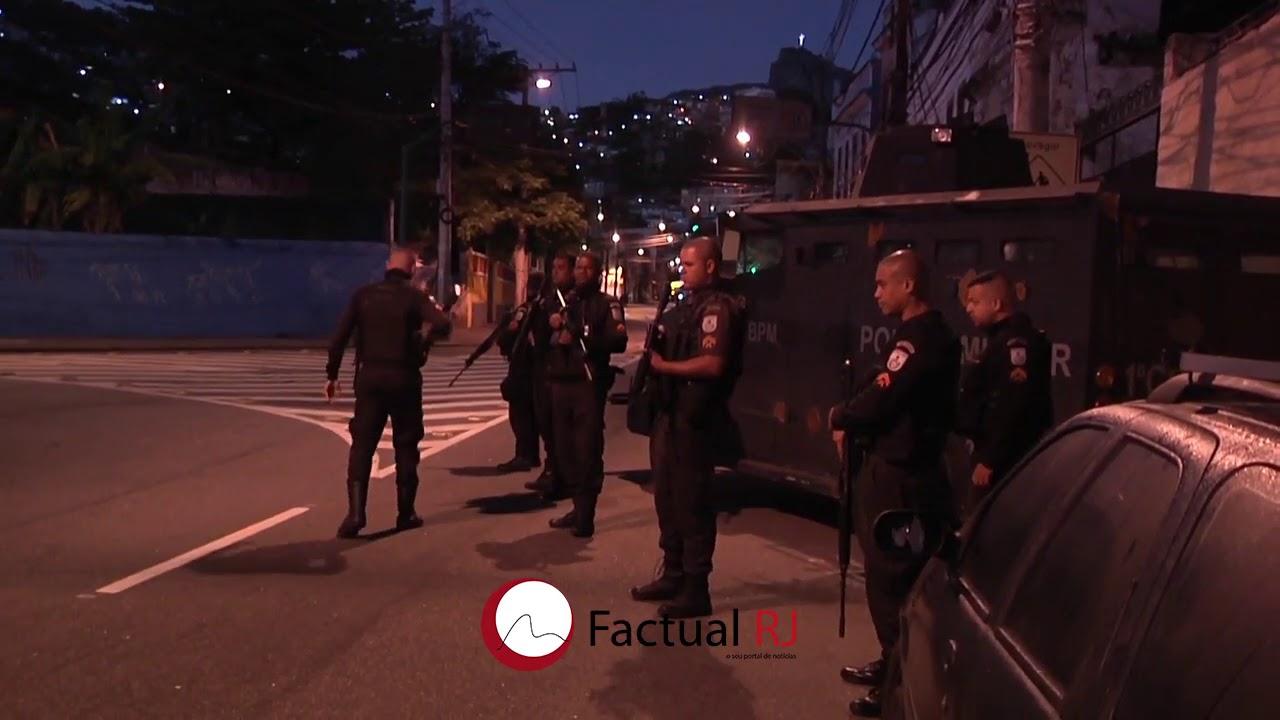 Reforço no Policiamento no São Carlos