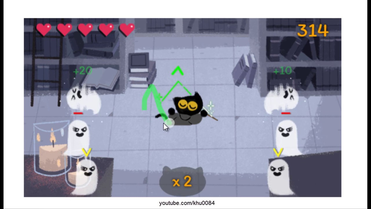 google doodle halloween game of 2016 is awesome brief intro and game play