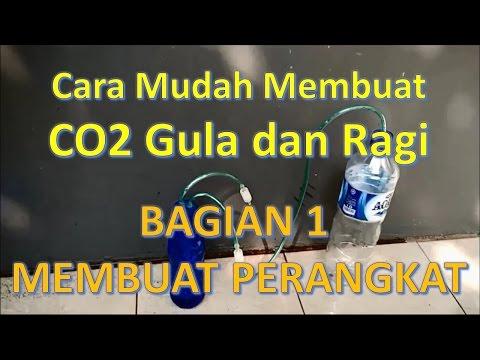 AQUASCAPE | CO2 DIY Gula dan Ragi Tutorial Detail - Bagian 1
