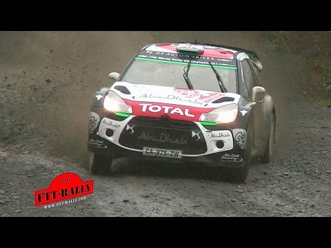 Wales Rally GB 2015 WRC Wales [HD] Highlights | Sideways | Flat Out | By FTT-Rally