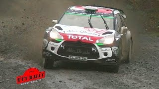 Wales Rally GB 2015 WRC Wales [HD] Highlights   Sideways   Flat Out   by FTT-Rally