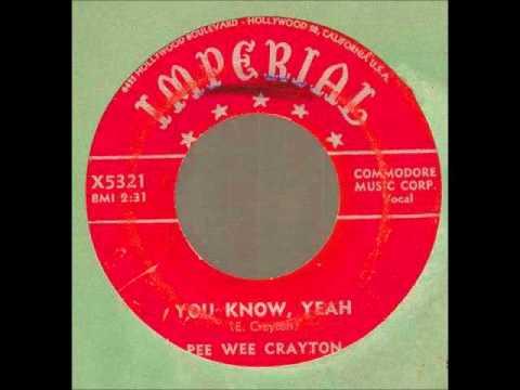Speaking, Pee wee crayton discography can