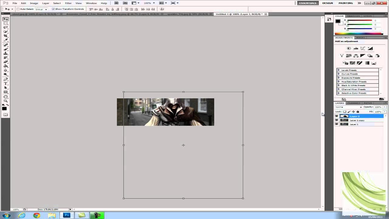 Adobe photoshop cs5 tutorial-how to create an animated forum.