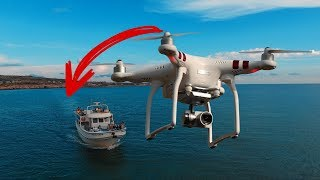 Drone land in the ocean automatically!?