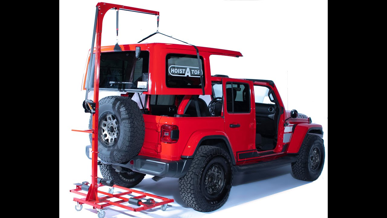 Lange Originals 014-220 JK 2 and 4 Door Jeeps Hoist-A-Top