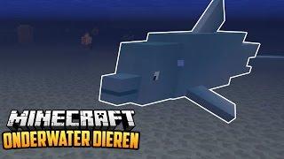 ONDERWATER DIEREN MOD - Minecraft Mod Showcase