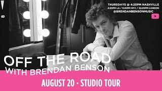 Off The Road w/ Brendan Benson: Studio Tour
