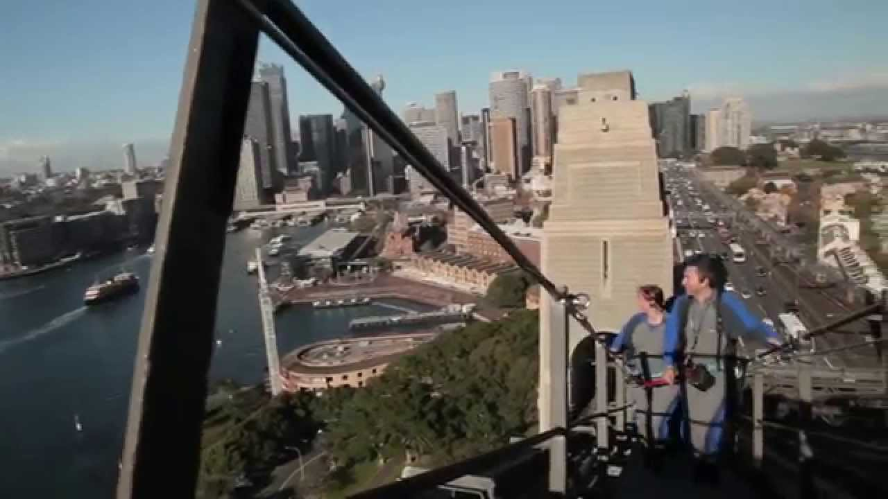 video Bridge Climb Twilight