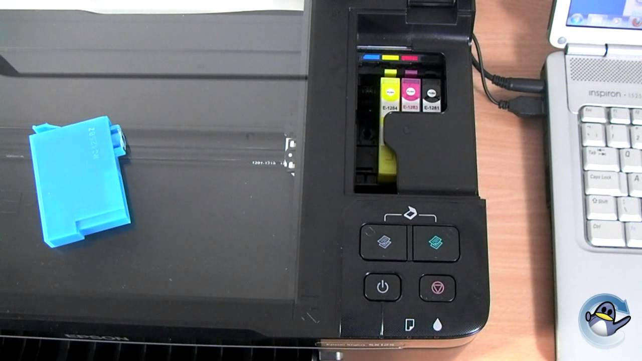 how to change ink cartridges with a epson stylus sx125 youtube rh youtube com Epson Stylus Printers Epson Copiers