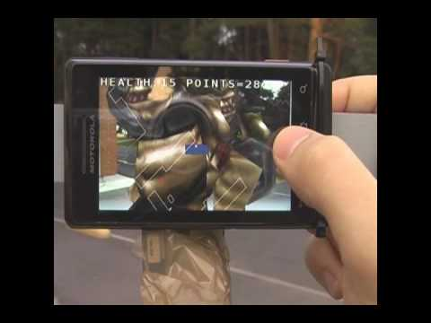 Prototype of AvaTaara - Augmented Reality game for Android