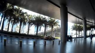 Walking Around Dubai Marina, Dubai Metro Station, Shopping Mall and the Garden