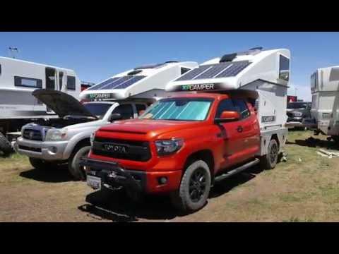 hard side pop up expedition camper by XP Camper :Overland Expo 2016