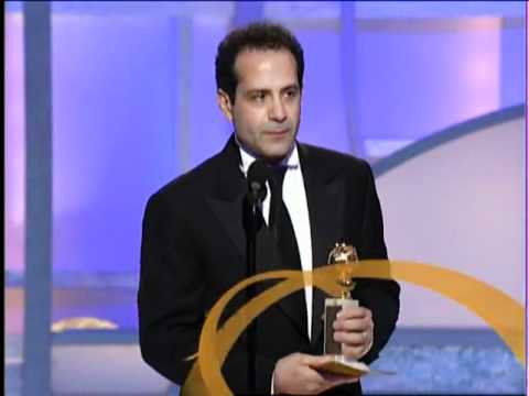 Tony Shalhoub Wins Best Actor TV Series Musical or Comedy - Golden Globes 2003