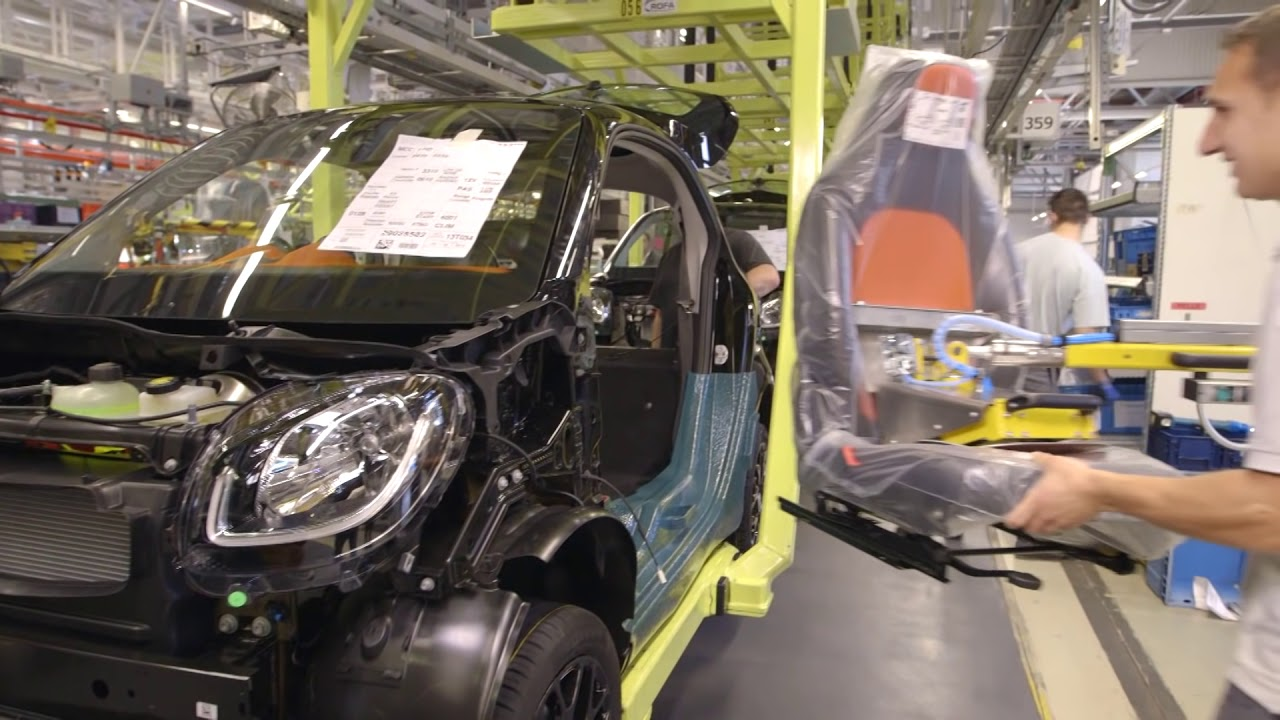 Smart fortwo Production  YouTube