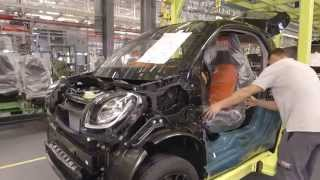Mercedes Benz 2015 Smart fortwo Assembly Line