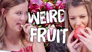 6 Weird & Exotic Fruits (Cheat Day)