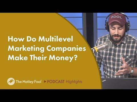How Do Multilevel Marketing Companies Make Their Money?