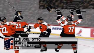 NHL 98 PS1 Gameplay HD