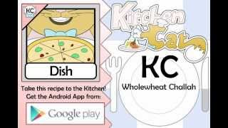 Wholewheat Challah - Kitchen Cat