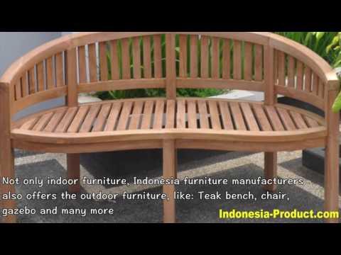 Indonesia Furniture: The Best Wooden Furniture Manufacturer