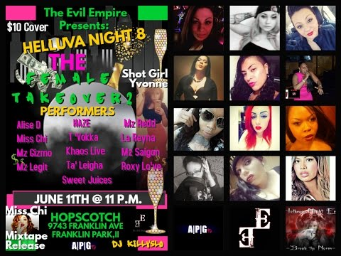 The Evil Empire Presents: Helluva Night Ent; The Female Takeover 2
