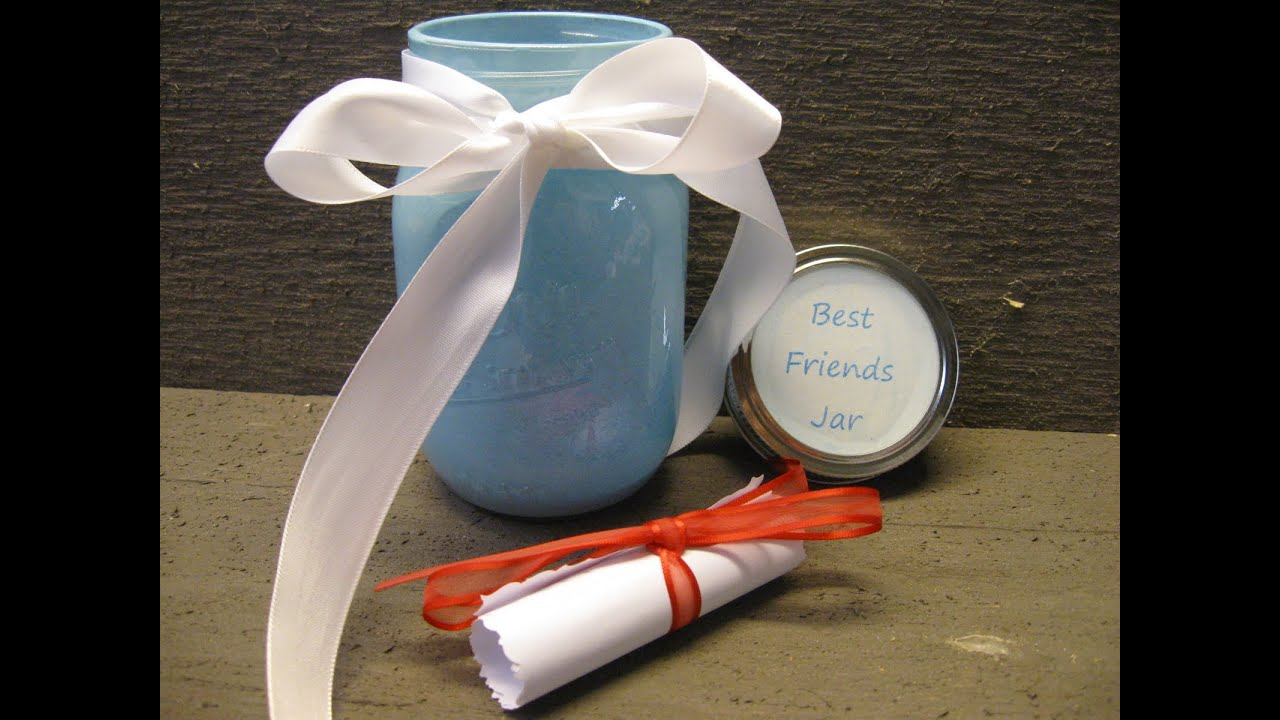 Diy best friends jar craft tutorial friendship youtube for Diy projects to do with friends