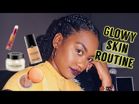 Fall/Winter Glowy Makeup Routine for Melanin Skin thumbnail