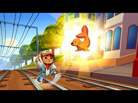 Subway Surfers SAN FRANCISCO iPad Gameplay #2