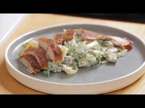 Немецкий Мужской салат с копченой рыбой. Простой рецепт для настоящих мужчин!!!