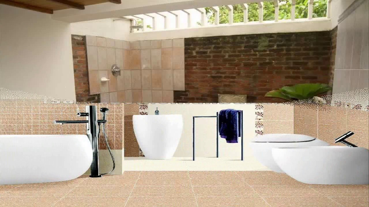 Bathroom Tile Design In Sri Lanka Youtube