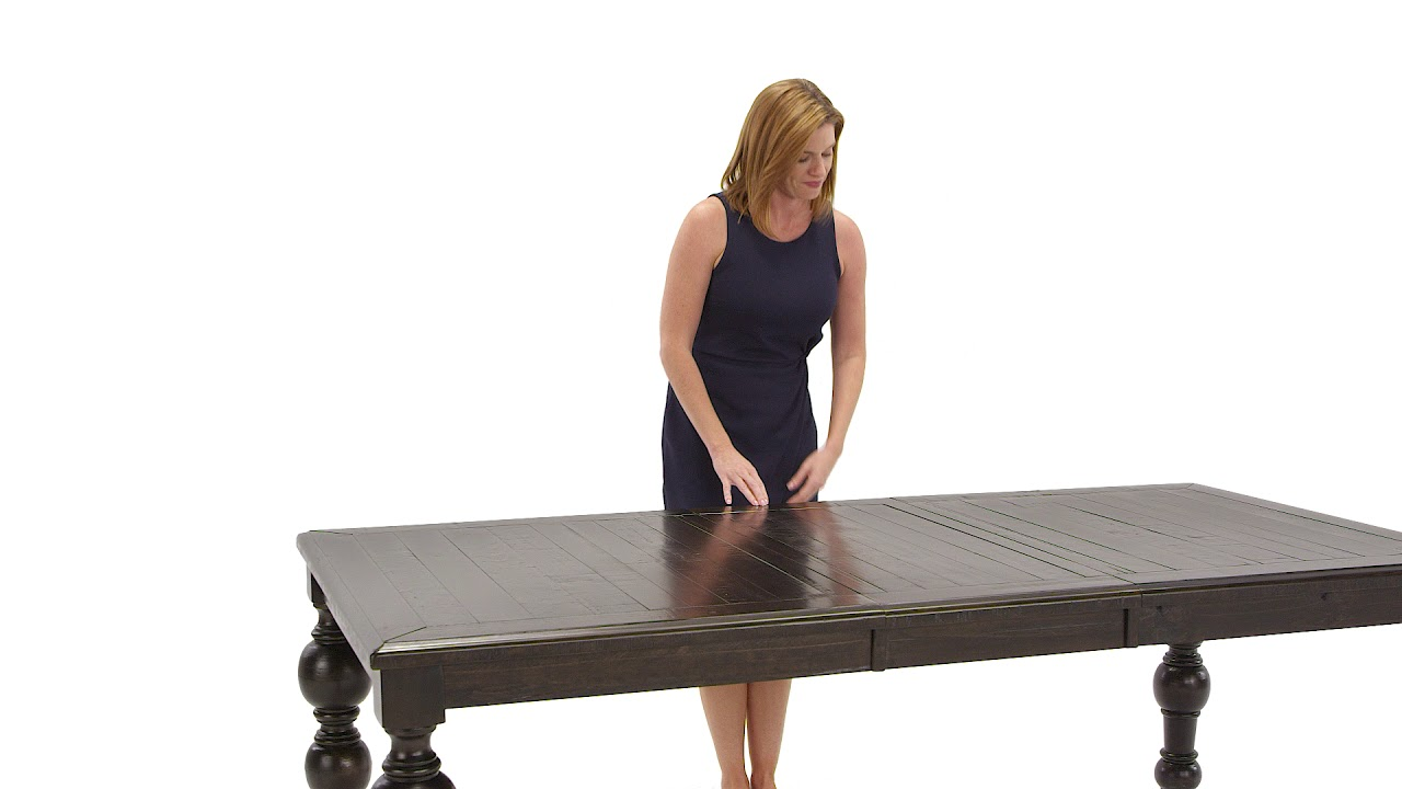 Ashley homestore townser dining room table youtube for Dining room tables you tube