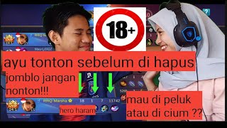 #anjaymabar Mabar Sama Cewe Minta Peluk !!! - Mobile Legend Indonesia