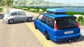 High Speed Traffic Crashes #12 - BeamNG Drive | CrashBoomPunk