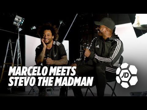 Marcelo Talks Real Madrid, Dogs, Michael Jackson and Allen Iverson With Stevo The Madman