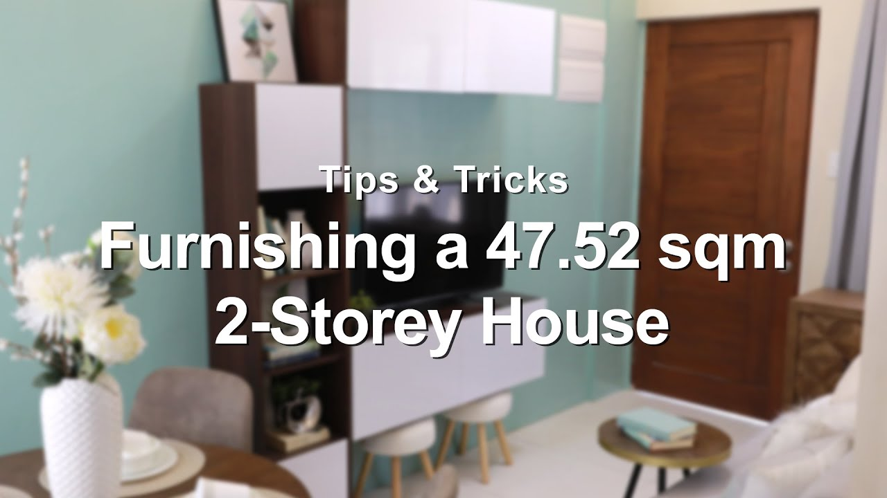 Furnishing A 47 52 Sqm 2 Storey House Mf Home Tv Youtube