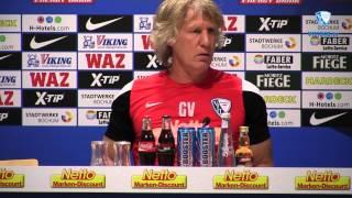 Pressekonferenz vor der Partie DSC Arminia Bielefeld - VfL Bochum 1848