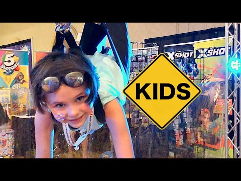 Fun Toys at Clamour 2018 with Sign Post Kids!