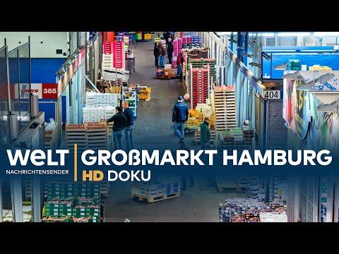 Großmarkt Hamburg: Geschäfte in der Nachtschicht | Doku