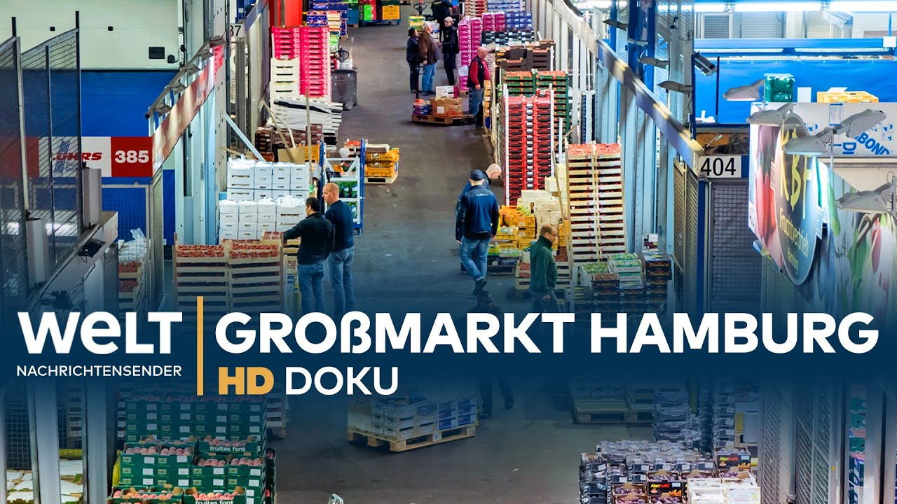 Großmarkt Hamburg: Geschäfte In Der Nachtschicht