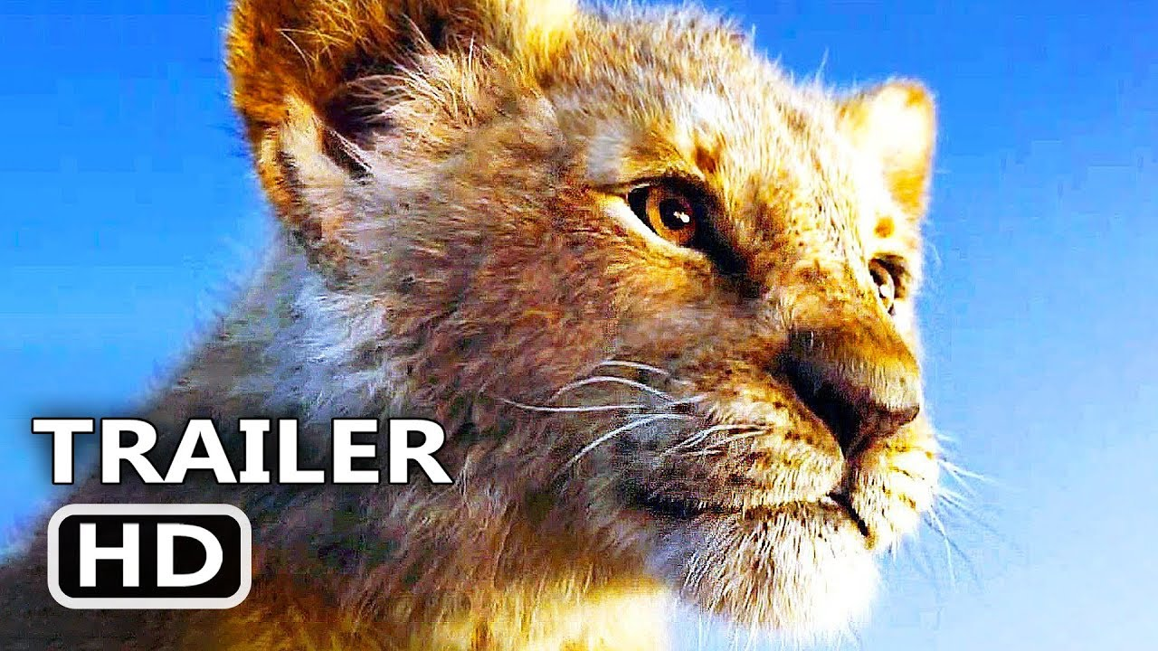 the lion king trailer   2  new  2019  disney movie hd