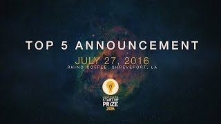 Watch the reveal of the Top 5 finalists for the Louisiana Startup Prize 2016!