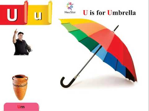 U Is For Umbrella Now Start With Letter