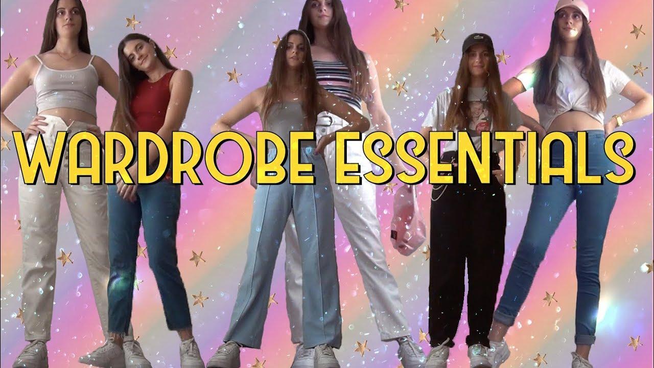 Wardrobe essentials / But make it Tumblr or VSCO / CLAU'S CLOUD 8