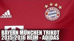 FC Bayern Trikot 2015/2016 Heim - Adidas - Bayern München