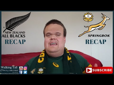 All Blacks vs Springboks RECAP | Gareth Mason