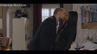 Coronation Street - Aidan Tries To Kiss Alya
