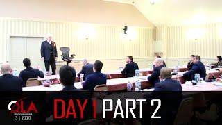 Day 1 Part 2 | March 2020 | Dan Peña QLA Castle Seminar